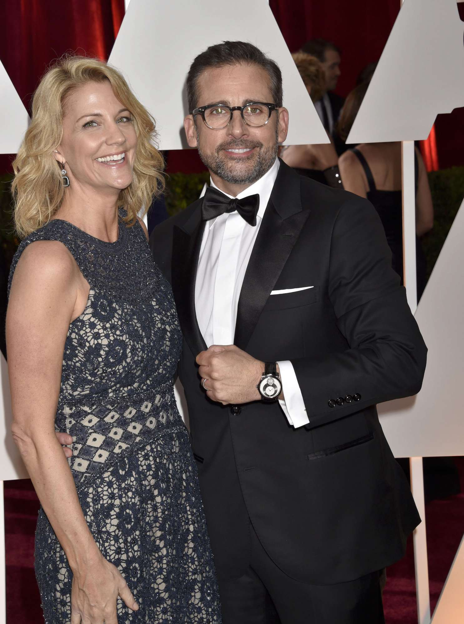 Actor Steve Carell attends the 87th Annual Academy Awards.  Photo by Jennifer Graylock, courtesy of Harry Winston (exp. 22 August 2015)